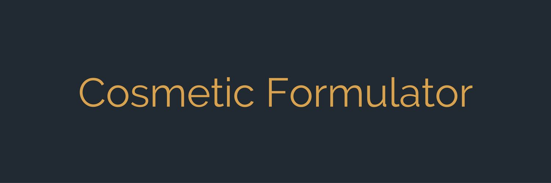 Cosmetic Formulator | Strategic Site Solutions